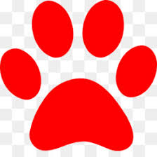 red dog paw clipart. Modren Paw PNG With Red Dog Paw Clipart