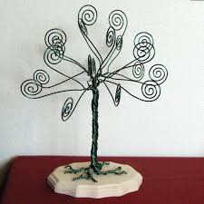 Kelly Green Wire Tree Card Holder Photo Display by TwystedWyres, $36.00