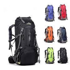 <b>Large Capacity Climbing</b> Backpack Travel Bag <b>50L</b> Multifunctional ...
