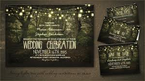 beautiful rustic wedding lights. Tree Path Invites Beautiful Rustic Wedding Lights