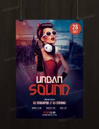 urban sound flyer template psd flyershitter com get urban sound flyer template psd