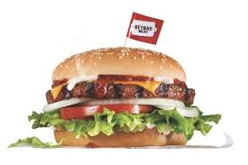 the beyond burger has lower saturated fat than regular beef but delivers 20g of protein