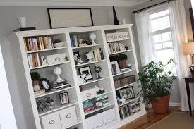... Wonderful House Furniture Using Ikea Bookshelf With Glassdoor : Top  Notch Living Room Design Ideas With ...