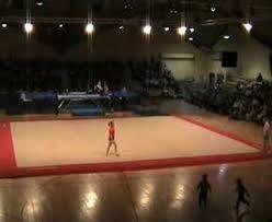 troline and floor routine olympian gymnastics club gala