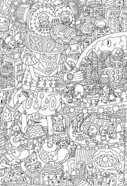 Relax With These 168 Free Printable Coloring Pages For Adults