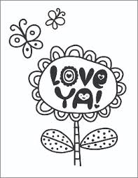 Printable valentines day card to color. Free Printable Valentine S Day Coloring Pages Hallmark Ideas Inspiration