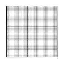 Black Graph Paper Graph Paper Pocket Square Walker Shop