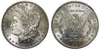 Morgan Dollars Price Charts Coin Values