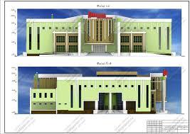 Скачать дипломный проект Торгово выставочный комплекс Перспектива Генплан Ситуационный план Экспликация 2