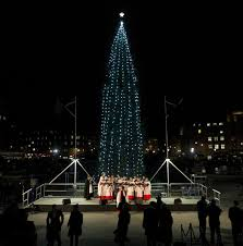 The tree has been an annual gift to London from Norway since 1947