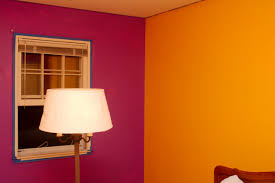 How To Paint A Room With Two Different Colors Extraordinary Inspirations  Painting On Walls 2017 Paintingbedroom Of Also Gorgeous Colours In Images  Bedroom ...