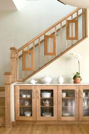 wooden staircase railing stair with glass what type of wood species finish are the hand rails wood stair railings