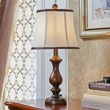 tuda free large retro table lamp american country style resin table lamp for bedroom bedside living room desk lamp e27 in led table lamps from