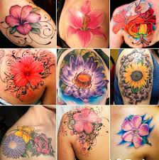 Tatuaggi Con Fiori Significato E 200 Foto Beautydea