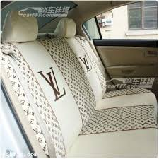louis vuitton leather seat covers
