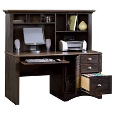 com harbor view computer desk with hutch antiqued paint finish kitchen dining