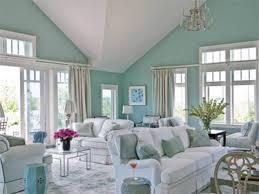 Aqua Living Room Decor Ideas. beautiful and serene home dcor idea with aqua  blue walls and white furniture