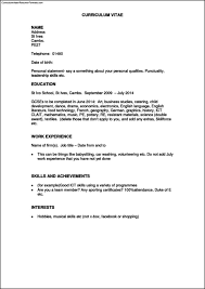 work history resume template work experience resume how to make a
