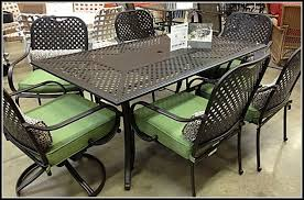 wrought iron patio furniture home depot