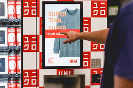 T Shirt Vending Machine Mesmerizing A Vending Machine Selling Clothes Is Uniqlo's Next Big Idea