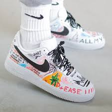Cool Air Force One Designs Af1 Trippy Thoughts
