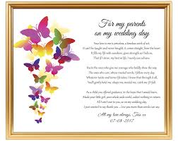 Wedding Gift Poem For Parents From Bride To Dad From Bride