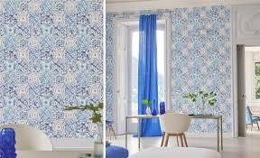 Small Picture Majolica Wallpaper Designers Guild