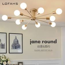 Bedroom Ceiling Lights Us 79 99 40 Off Golden Ceiling Lights For Dining Living Room Bedroom Ceiling Lamp Diameter 100cm With Led Bulbs For Hall Kitchen Salon Qdh9058j In