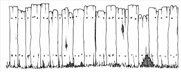 wood fence drawing. Wooden Fence Clipart Clipground Patent Us Rackable Wood Privacy Panel Google Drawing