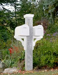 double mailbox post plans. NH Grey Granite Mailbox Post Westwood Mills Inside Double Plans 11