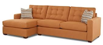 Furniture Rustic Brown Leather Sectional Sofa For Rustic Living - Chaise lounge living room furniture