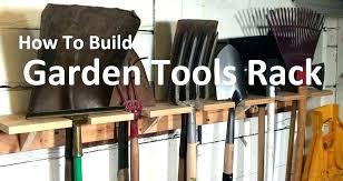 yard tool rack garden tool hangers wall storage garden tools rack how to build an garden