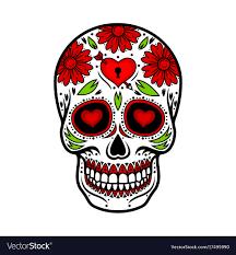 Day Of The Dead Skull Designs Day Of The Dead Skull Skull Sugar Flower