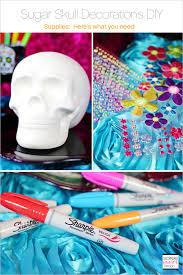 sugar skulls diy supplies