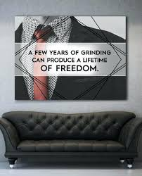 inspirational artwork for office. Inspirational Artwork For Office. A Few Years Of Grinding Motivational  Office Canvas Wall Art