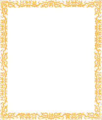 Decorative Borders For Word Gold Cool Border Clip Art At Clkercom Vector Clip Art Online