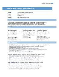 Contemporary 1 Resume Template Contemporary 1 Resume Templates