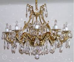 brass crystal chandeliers elegant and chandelier by