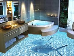 Awesome Bathroom Designs Impressive On Bathroom 3D Floor Designs 4