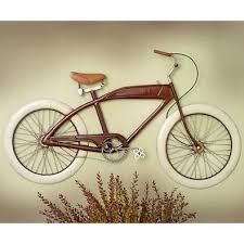vintage red bike metal wall art on bicycle metal wall art uk with home garden vintage red bike metal wall art