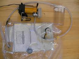 vacuum pump in operation