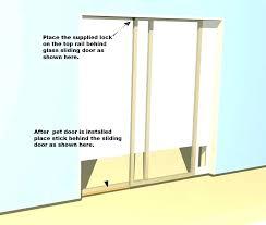 pet door dog door for sliding glass door doors for sliding door patio dog elegant