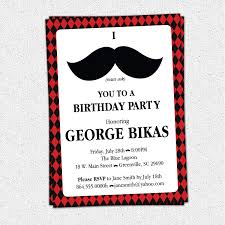 mustache birthday invitations in support of invitations your birthday invitation templates with captivating ornaments simple 18th