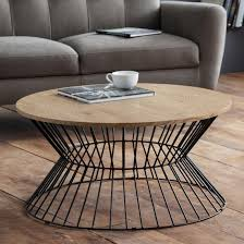 jersey wooden coffee table in natural