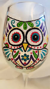 Sugar Skull Bathroom Decor Sugar Skull Owl Etsy
