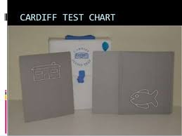 Cardiff Visual Acuity Chart Test Types Used In Optometry