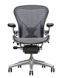miller office chair. wonderful office herman miller aeron chair polished aluminium with office