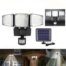 Solar Sensor Light Big W 3 6w 188led Solar Power Sensor Wall Light Garden Yard Lamp Waterproof Outdoor Lantern