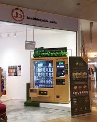 Cold Pressed Juice Vending Machine Inspiration Shake Salad At J48 Cold Pressed Juice Launch Promotion