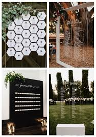 Modern Wedding Seating Chart 25 Modern Wedding Seating Charts To Try Happywedd Com